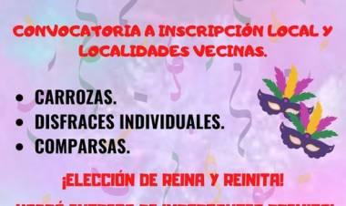 LOS CERRILLOS,TRASLASIERRA CÓRDOBA : CONVOCATORIA PARA COMPARSAS ,BATUCADAS , CARROZAS Y DISFRACES INDIVIDUALES .