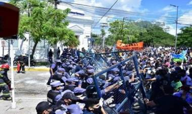 """LA O.N.U EXPRESÓ SU PREOCUPACIÓN POR LA """"VIOLENCIA INDISCRIMINADA"""" EN FORMOSA."""