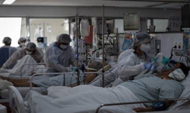 RÉCORD DE MUERTES EN BRASIL  POR COVID : 3.251 PERSONAS FALLECIDAS EN LAS ÚLTIMAS 24 HORAS.