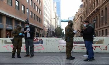 CHILE DETECTÓ LAS CEPAS BRITÁNICA Y BRASILEÑA DEL COVID-19 Y AMPLIÓ LA CUARENTENA A TODA LA REGIÓN METROPOLITANA DE SANTIAGO.