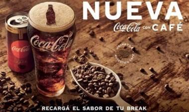 VÍDEO- LA NUEVA COCA-COLA CON CAFÉ LLEGÓ A LA ARGENTINA : UN SABOR QUE DESPIERTA LOS SENTIDOS.