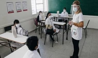 CÓRDOBA : DESDE EL PRÓXIMO LUNES 06 DE SEPTIEMBRE, VUELVE A LA PRESENCIALIDAD DE CLASES A PLENA.