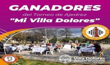 VILLA DOLORES : CON TODO ÉXITO CULMINÓ EL TORNEO DE AJEDREZ.