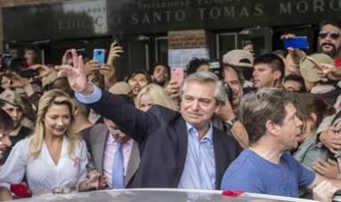 CONVOCAN A MARCHAR ESTE JUEVES  EN APOYO AL GOBIERNO DE ALBERTO FERNÁNDEZ.