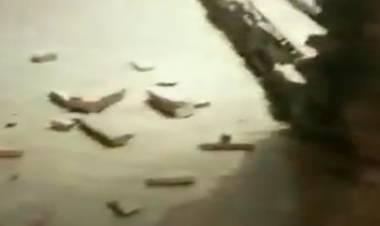 VÍDEO - SISMO DE 5.4 RICHTER EN CHILE HIZO TEMBLAR EL CALAFATE,EN ARGENTINA.