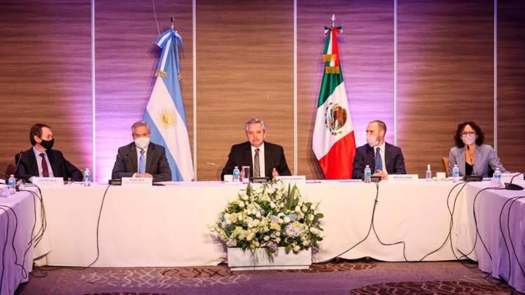 ALBERTO FERNÁNDEZ INICIO SU VISITA A MÉXICO Y SE REUNIRÁ CON LÓPEZ OBRADOR.