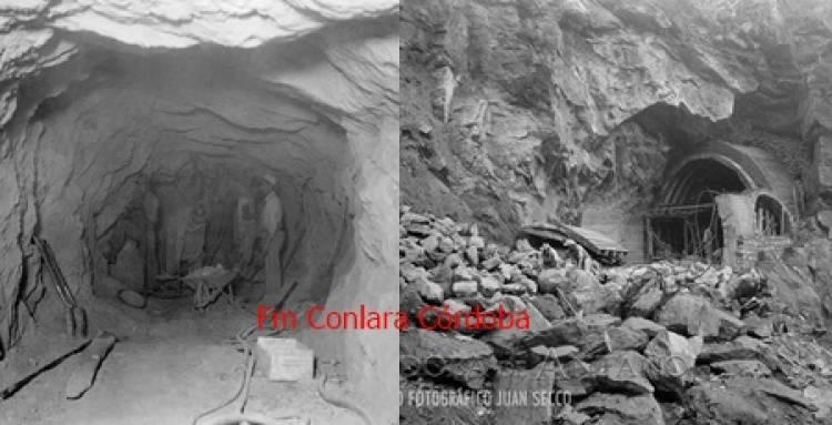 CONSTRUCCIÓN DEL CAMINO DE LOS TÚNELES,EN TRASLASIERRA. GALERÍA DE IMÁGENES.