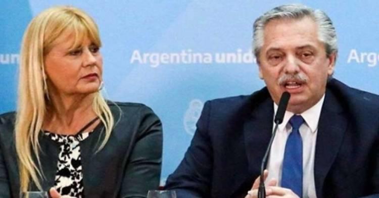 """ALBERTO FERNANDEZ CONFIRMÓ LA RENUNCIA DE LA MINISTRA DE JUSTICIA MARCELA  LOSARDO : """"ESTA AGOBIADA""""."""