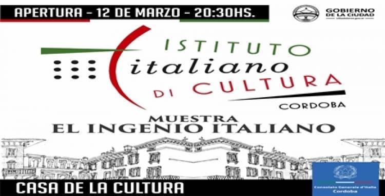 """VILLA DOLORES : MUESTRA """"INGENIO ITALIANO"""" DEL INSTITUTO ITALIANO DI CULTURA"""