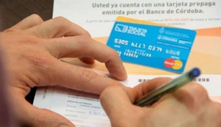 EL LUNES 10 DE MAYO,COMIENZAN LOS PAGOS DE LA TARJETA SOCIAL EN CÓRDOBA.
