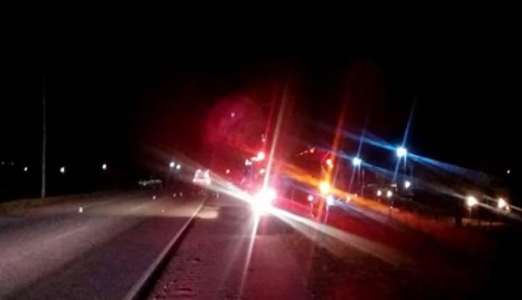 ACCIDENTE FATAL CERCA DE LOS MOLLES , SAN LUIS : TRAGEDIA EN LA RUTA 1, MURIÓ UN MOTOCICLISTA EN UN CHOQUE.